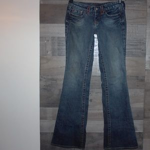 Bebe Women's Jeans Slim Boot cut Size 28